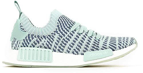 adidas Originals NMD_R1 Stealth Primeknit Damen-Sneaker CQ2031 Ash Green Gr. 38 (UK 5,0)