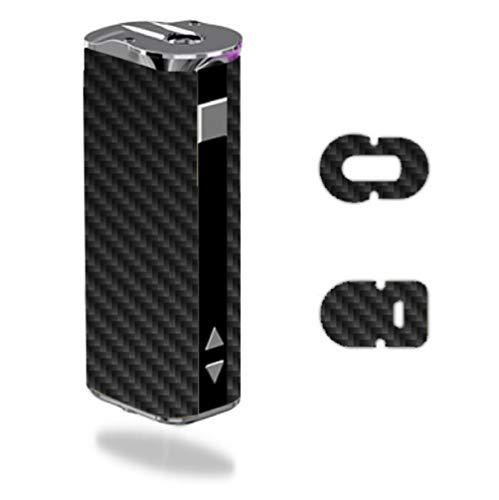 Decal Sticker Skin WRAP Carbon Fiber Black Grey Pattern Background for Eleaf iStick 30W