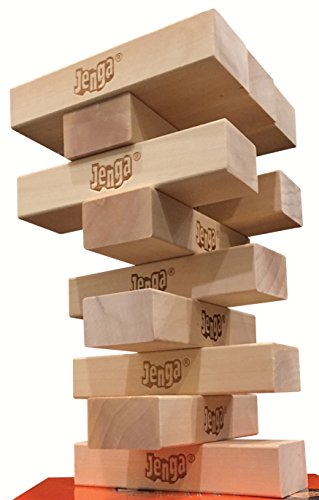 Price comparison product image 12-Block Booster Pack for Jenga GIANT Genuine Hardwood Game version (NOT a standalone game)