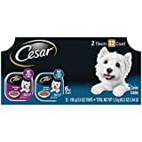 Cesar Filets Variety Pack - Beef Flavor Dog Food Trays, 3.5 oz. (12 Count)