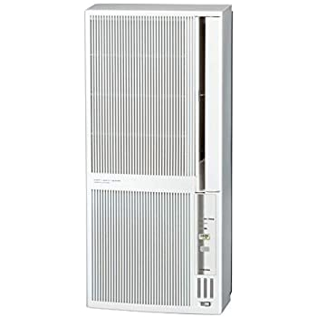 コロナ 窓用エアコン(冷暖房兼用・おもに4.5~8畳用 シェルホワイト)CORONA CWH-A1820-WS