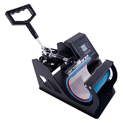 Cup Coffee Mug Heat Press Transfer Sublimation Machine Dual Digital