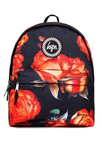 HYPE - Mochila Casual de sintético Unisex Naranja Negro Talla única
