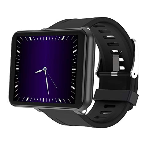 Big Screen Size 2.86' Screen 4G Android Smartwatch Support Android 7.1 Camera 5.0MP (Black, 3GB-32GB)