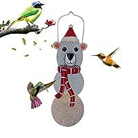 鳥フィーダーメタル えさやり器 給餌器 金属ハンギング 庭屋外ハンギング 庭の装飾 祭日の飾り 屋外ベランダつり下げ式