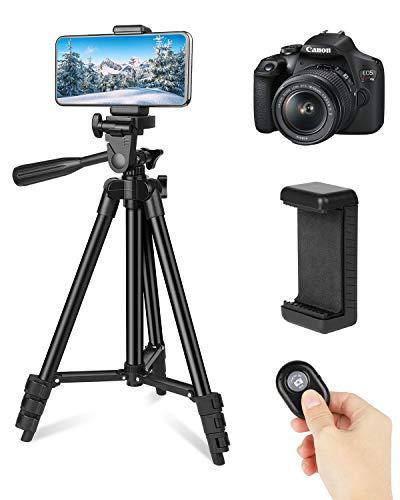 LONK Trípode para Celular Cámara 106cm/42'', Trípode Celular Fotográfica Soporte de Video Selfie Vlog con Remoto Bluetooth,...