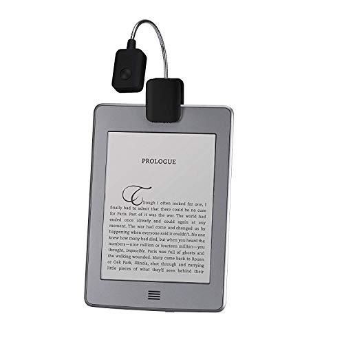 Reading Light, Black, LED Reading Light, Book Light, E-Reader light, Verso