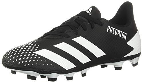 adidas Predator 20.4 - Zapatillas de fútbol para hombre, (Negro/Amarillo/Naranja), 40.5 EU