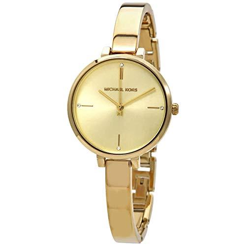 Michael Kors Women's Jayne Three-Hand Gold-Tone Alloy Watch MK7118