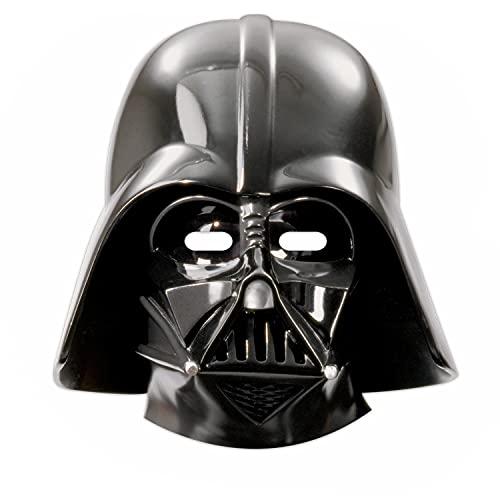 Procos 84167 - Papier-Masken Star Wars Final Battle, 6 Stück, Größe 25,2 x 23,5 cm, mit Gummiband, Gast-Geschenk, Karneval, Geburtstag, Mottoparty