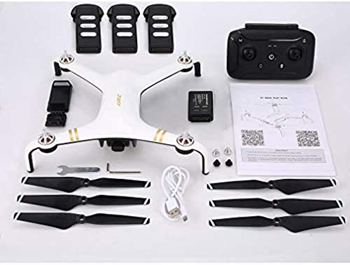 Leoboone JJR   C X7 RC Drohne Brushless Motor 5G WiFi FPV 1080P GPS DREI Batterien