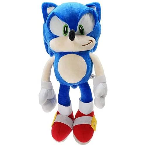 Kpcxdp 45 CM Muñeca Animada Juguete de Peluche Hedgehog Big Blue York Ratón Sony Achaloo Tal Temple Doll Doll Gift Gift