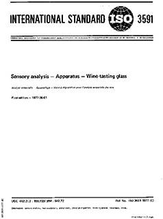 ISO 3591:1977, Sensory analysis -- Apparatus -- Wine-tasting glass
