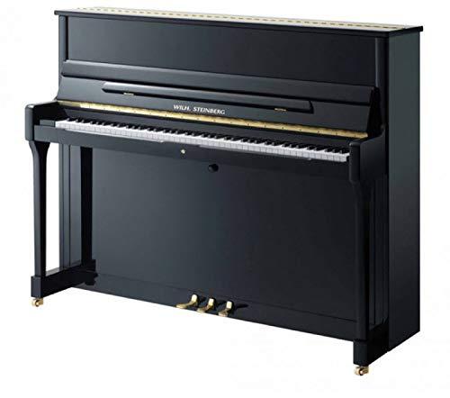 Klavier Marke Wilh. Steinberg Modell AC118 - schwarz poliert