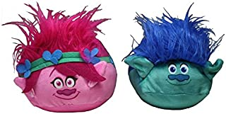 Trolls Poppy and Branch Plush Toy Mini Travel Pillow - Cubd Collectibles