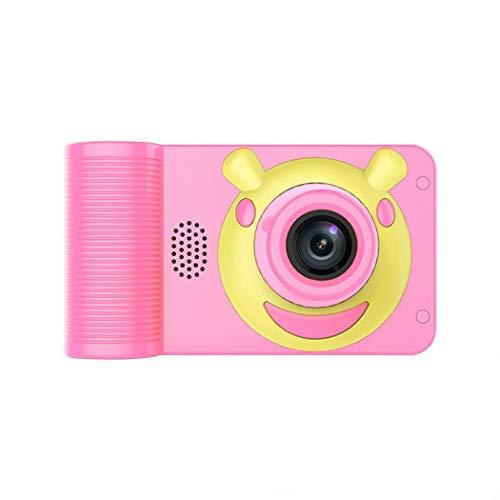 fnemo Cámara para niños, 2 Pulgadas, cámaras Digitales, Juguetes interactivos, Juguete para Tomar Fotos, videocámara para niñas y niños, Rosa, as Show
