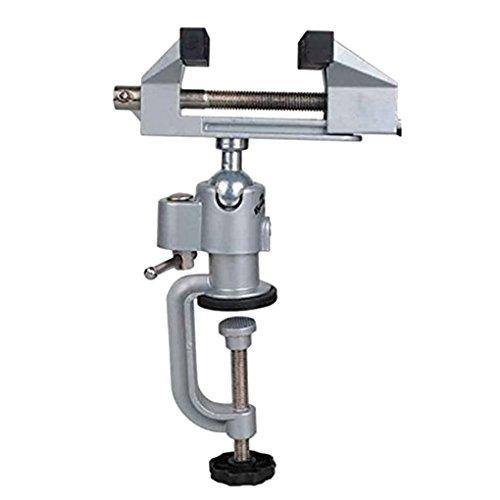 Pegcduu 8003 Einheiten Precise Tisch Bank Vise Universal Table Schraubstock Aluminium-Legierung 360 Grad drehbare Heim Tabelle Klammer Tretlagers
