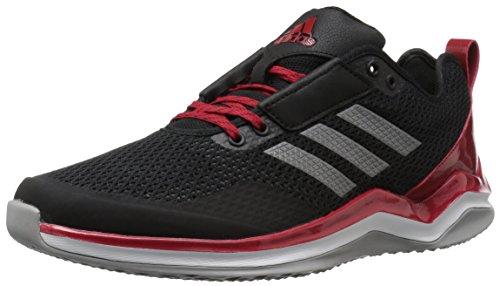 adidas Herren Speed Trainer 3.0 Cross, Schwarz (Schwarz/Eisen/Power Red), 36 EU