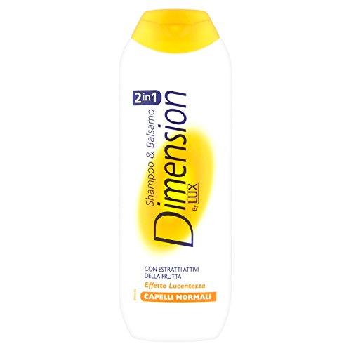 Dimension by Lux - Shampoo & Spülung mit fruchtigen Aktivextrakten und Glanzeffekt, für normales Haar - 250 ml
