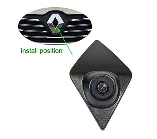 petit un compact Misayaee logo caméra avant de voiture caméra frontale intégrée vision nocturne parking étanche large…