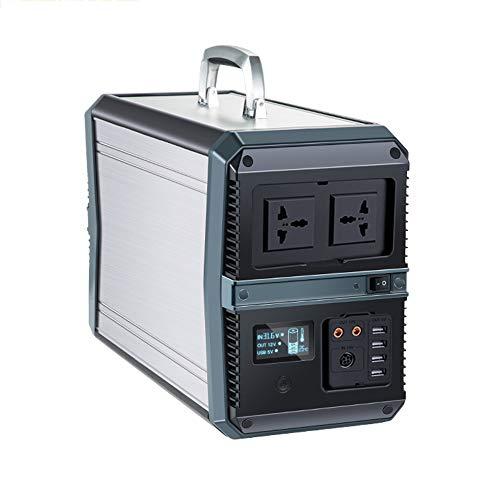 Pixier 1000W 273000mAh Generador Portátil Solar, Almacenamiento Suministro De Energía, AC Y...