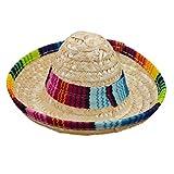 Toyvian 3 paquetes de mini sombreros de fiesta sombrero sombreros mexicanos para niños muñecas masco...