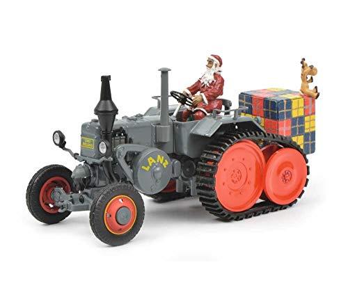 Schuco 450770300 Lanz Weihnachten 450770300-Lanz 2018 1:32, Modellauto, Modellfahrzeug, Mehrfarbig