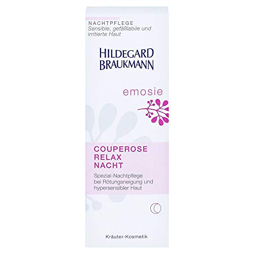 Hildegard Braukmann Emosie Women, Relaxing Redness Relief Night, 1er Pack (1 x 50 ml)