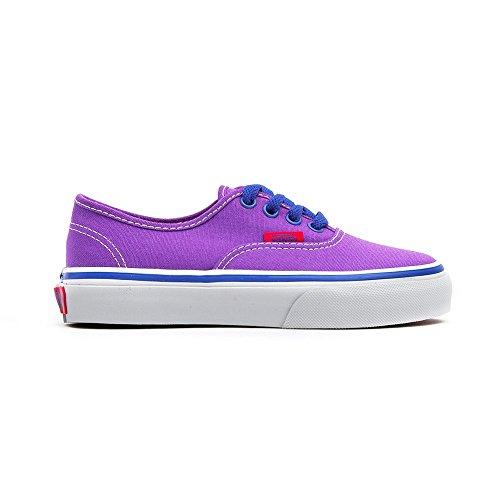 Vans Authentic Junior VUR8 - Zapatillas deportivas, color morado, Pansy Surf The Web, 27 EU
