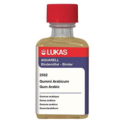 LUKAS Aquarell Watercolor Medium - Gum Arabic 50 ml Bottle