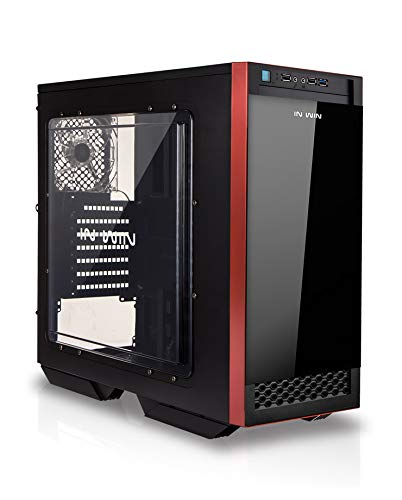 InWin 503 Black ATX Mid Tower Computer Chassis Case for Gaming