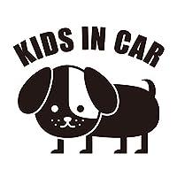 imoninn KIDS in car ステッカー 【パッケージ版】 No.03 コイヌさん (黒色)