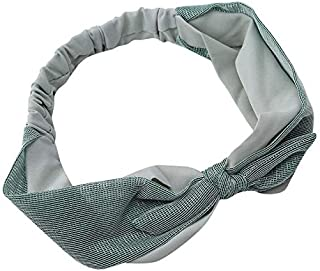 MOPOLIS Color Matching Bow Hairband Mesh Korean Style Cloth Fabric Sweet Beauty Hairband | Color - Light Green
