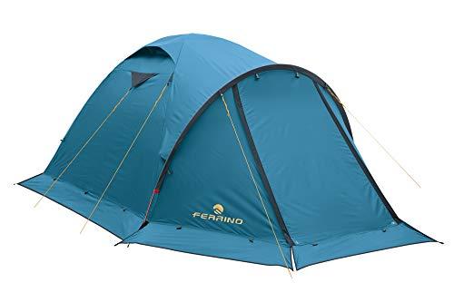 Ferrino 91186CBA Tienda de campaña Acampada y Senderismo Unisex Adulto, Azul (Blue),...
