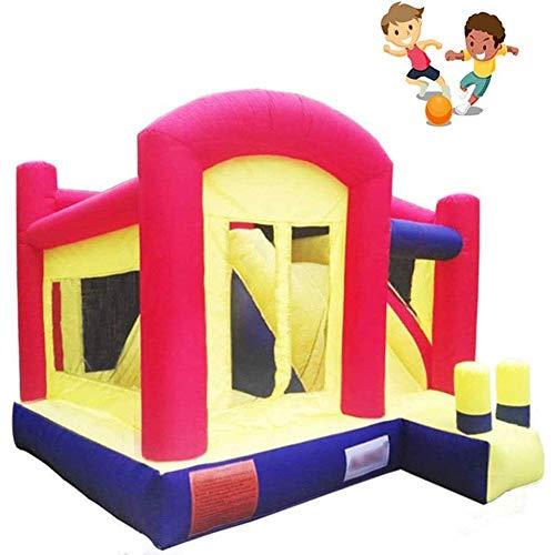 Zhihao Childrens Aufblasbare Hüpfburg, Innen Kid aufblasbares Schloss, aufblasbares Schloss Slide Trampolin, Kinder Aufblasbarer Spielplatz