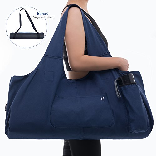 Uhawi Yoga Mat Bag Large Yoga Mat Tote Sling Carrier