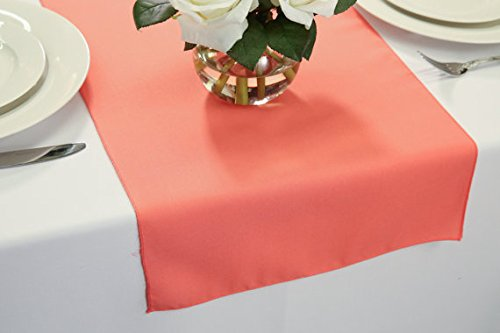 "Wedding Table Runners 14"" x 48"" (Coral)"