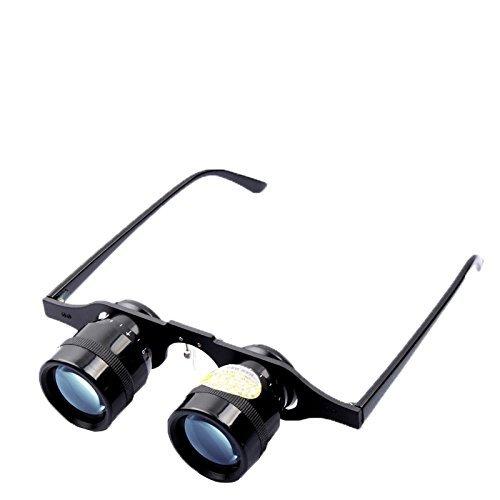 Nadalan gafas de pesca portátiles de alta definición Telescopio de binoculares sin manos ultraligeras para la observación al aire libre / conciertos en la ciudad