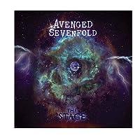 アヴェンジドセブンフォールドミュージックバンドアルバムカバーポスタープリントアートワークギフトデコレーションウォールアートキャンバスペインティングリビングルームデコレーション-60x60CMフレームなし