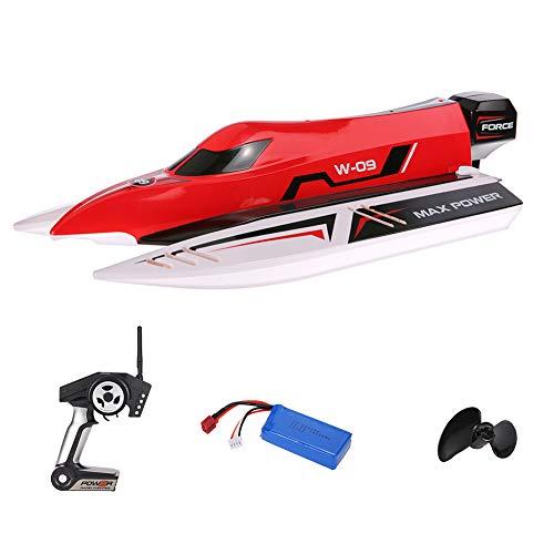 Izzya Barca Telecomandata 45 km/h Brushless High Speed Motoscafo Radiocomandato Barca da Corsa ad Alta velocità per Bambini e Adulti