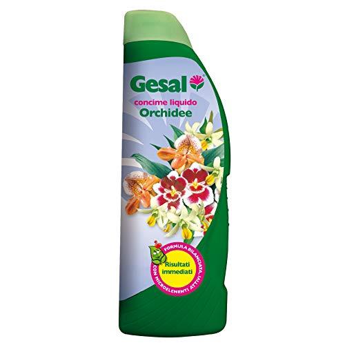 GESAL Concime Liquido per Orchidee, Formula bilanciata con Microelementi Attivi, 500 ml