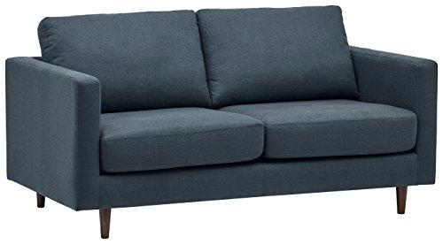 Marque Amazon - Rivet as-5075-sb-denim Revolve - Canapé-lit Moderne, Largeur 178 cm, Denim
