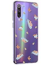 Oihxse Compatible con Xiaomi Redmi 7A Funda Cristal Silicona TPU Suave Ultra-Delgado Protector Estuche Creativa Patrón Protector Anti-Choque Carcasa Cover(Pereza A7)