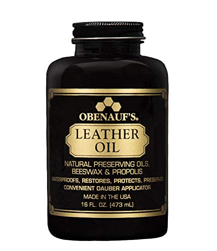 Obenauf's Leather Oil 16oz. - Restore Dry Leather - Made in the US
