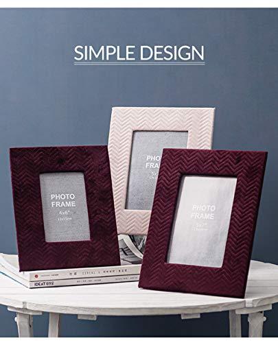 Flanellen fotolijstscherm, 2 Pack Scandinavische eenvoudige persoonlijkheid creatieve woonkamer tv-kast bureaublad decoratie