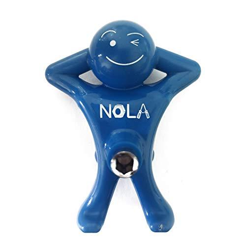 """NOLA Multi-head Screwdriver,Mini Screwdriver Man Tools,1/4"""" Head (blue)"""