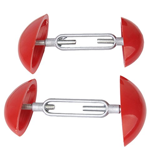 P Prettyia Pieds 2pcs Mens Womens Mini Shoe Stretchers Shapers Largeur Extendeurs Réglable