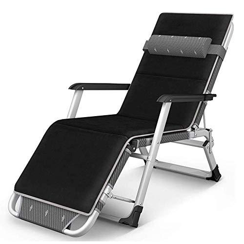 XIAOHE Silla Sola baraja sillas de Oficina Plegable multifunción portátil (Color : Black)