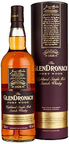 The GlenDronach PORT WOOD Highland Single Malt Scotch Whisky Whisky (x 0.7)