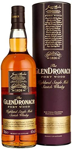 The GlenDronach PORT WOOD Highland Single Malt Scotch Whisky Whisky (x 0.7)